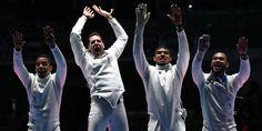 JO de Rio 2016-Escrime : médaille d'or pour les épéistes français !