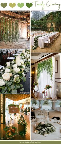 Budget Friendly Wedding Trend: 30 Greenery Wedding Decor Ideas ❤ Greenery wedding decor is easy way to add nature and style to your reception. Greenery is a wonderful alternative to florals, that will give a lush look. See more: http://www.weddingforward.com/greenery-wedding-decor/ #weddings #decoration #bridaldecorations #greeneryweddingdecor