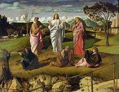 Giovanni Bellini, Trasfigurazione di Cristo (Museo di Capodimonte)