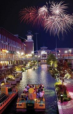 Oklahoma City Bricktown Riverwalk