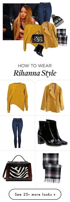 """Untitled #1004"" by bsimon-1 on Polyvore featuring Topshop, STELLA McCARTNEY, Yves Saint Laurent, Mulberry, WithChic and Lands' End"