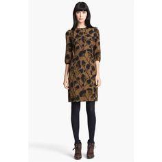 Burberry London Print Silk Dress