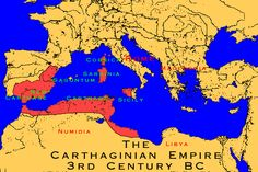 The Carthaginian Empire 3rd century BC