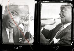Louis Armstrong, 1958.  In 1958, Stern shot and directed the documentary film Jazz on a Summer's Day at the Newport Jazz Festival in Rhode Island. The film's simple variations on lighting and documentary style resonated with both audiences and film-world heavy-hitters such as Martin Scorsese and Spike Lee.