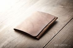 The Trifold Leather Wallet is the most simple approach to carrying a few cards and all of your cash without the bulk.