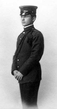 Harry Truman - Aged 22