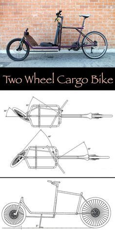 How to Build a Two Wheel Cargo Bike