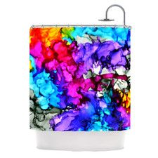Indie Chic Shower Curtain