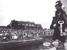 """""""Mayor"""" Dick Jones 1976 at Quissett. Quissett harbor house."""