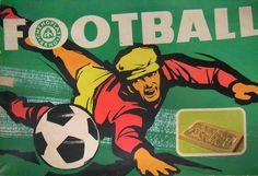 scanzen:  Football. Chemoplast, Brno, c1970. via vatera