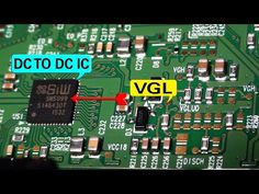 In This video about VGL problem symptom from DC to DC IC. DC to DC IC problem detect. VGH voltage problem and VGL voltage problem detect. Electronics Mini Projects, Electronics Basics, Electronic Circuit Projects, Electrical Projects, Sony Led Tv, Arduino, Electrical Circuit Diagram, Lg Tvs, Tv Panel