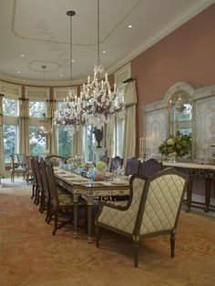 1000 Images About Formal Dining Rooms On Pinterest