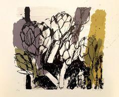 Artichokes by Rosemary Vanns
