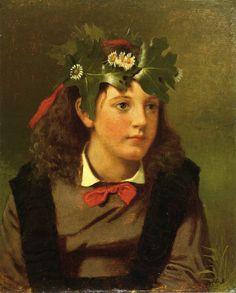 The Athenaeum - Little Miss Autumn (John George Brown - )