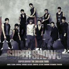 『Super Junior The 3nd ASIA TOUR 「Super Show3」』  Super Junior最新ライブCD、遂にリリース!  2010年8月14、15日に韓国ソウルオリンピック公園体操競技場で行われたSuper Juniorの3回目となる単独コンサート「SUPER SHOW 3」の熱気をそのまま収録した、最新ライブアルバムが登場。
