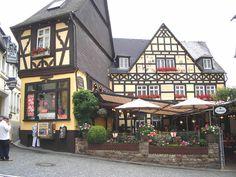 Ruedesheim on the Rhein River, Germany