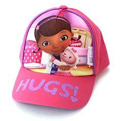 Holiday Cap Small Girls DlSNEY /'DOC McSTUFFINS/'  Summer 1-3 yrs Sun Hat