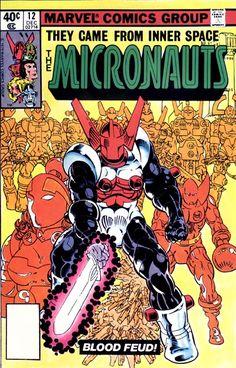 Micronauts #12 - Michael Golden