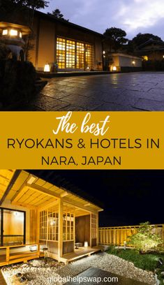 If you are looking for a ryokan or hotel in Nara Japan then check out our favorites first. Why not stay in a traditional Japanese Inn in Nara! Japan Travel Guide, Asia Travel, Travel Guides, Travel Hacks, Travel Advice, Japan Destinations, Visit Japan, Nara, Travel Around