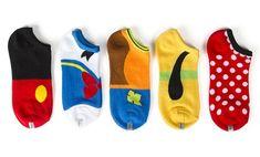 Disney Find- Adorable Fab Five Disney Themed Socks