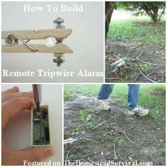 How to build a Tripwire Alarm