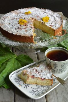 Sweet Pie, Piece Of Cakes, Dessert Recipes, Desserts, Sweet Recipes, Goodies, Food And Drink, Treats, Cheese
