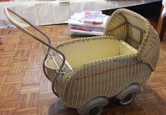 Antiker puppenstuben kinder wagen um 1940 ebay vintage baby