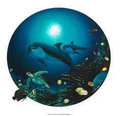 Undersea Life - Limited Edition Giclee on Canvas by Wyland