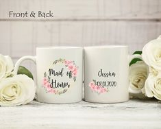 Maid of Honor mug. Will you be my Maid of Honor gift. Save the date gift. Best friend proposal mug. Best Friend Mug, Friend Mugs, Grandma Mug, Grandmother Gifts, Bridesmaid Cards, Bridesmaid Proposal, Maid Of Honour Gifts, Maid Of Honor, Book Lovers Gifts