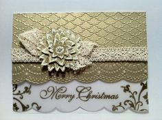 Vellum Gold Christmas - Stampin' Connection