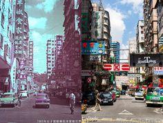 - 【西洋菜街】 於1979年1月12日分拆為【西洋菜南街】及【西洋菜北街】兩段。 - 新圖: 香港公共小巴 - 豐田Coaster