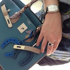 Hermes - Birkin & Horseshoe Bag Charms