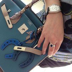 Hermes - Birkin & Horseshoe Bag Charms