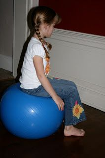 Bouncy Ball Math:  Use that old exercise equipment already languishing in the corner from discarded New Year's Resolutions to add some kinesthetic learning opportunities for math.