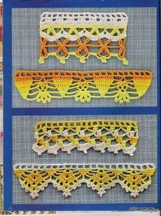 Free crochet pattern edging crochet magazine | make handmade, crochet, craft