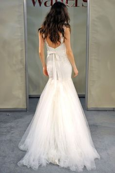 Sheath Wedding Dress : firstVIEW Watters Bridal Spring 2012