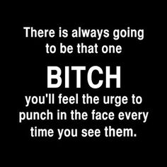 Don't underestimate me bitch i will bash your face in. Maybe then you would be pretty....
