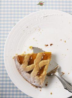 Apricot Linzer  Aprikosen-Linzer