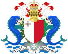 Coat of arms of of the Governor-General of Malta, version of 1964