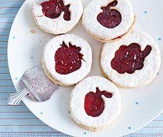 Kekse mit Frucht-Motiv - Fruchtige Tischdeko 3 - [LIVING AT HOME]