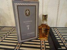 Ecusson Jean D'Albret 7.5ml. Perfume Vintage by MyScent on Etsy