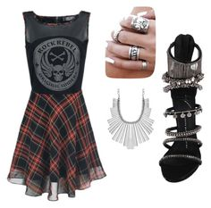 """""""Untitled #36"""" by queenana15 on Polyvore featuring Giuseppe Zanotti and Lucky Brand"""