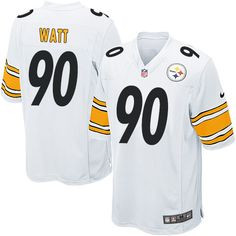 da1fdca1967 Nike Steelers James Conner White Youth Stitched NFL Elite Jersey And Troy  Aikman 8 jersey