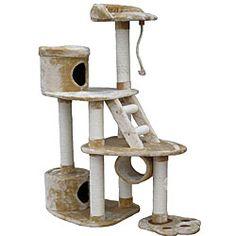 GoPetClub Cat Scratcher and 59-inch Cat Tree $102.99