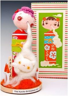 custom kokeshi doll by hine mizushima