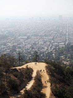 Hike at Griffith Observatory Los Angeles