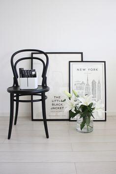 Via Home Via Laura | Black and White | Thonet | Iittala