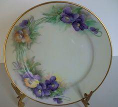 Antique Nippon Wisteria Flowers Handpainted  on by LaCheriMaison, $45.00