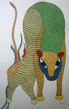 Gond art of India