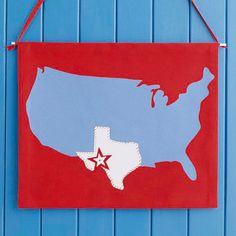 U.S.A. Door Banner...perfect for the 4th of July!